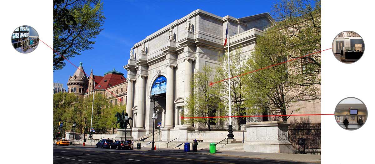 راه حل حفاظت موزه