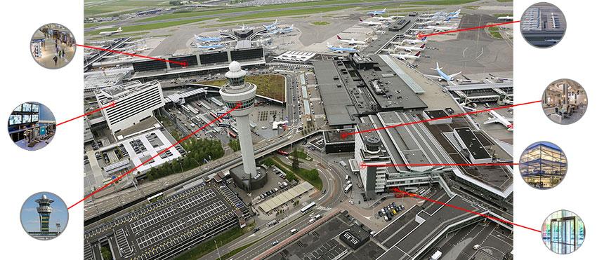 استفاده از دوربین مداربسته در فرودگاه