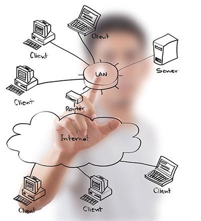 مشاوره و طراحی شبکه کامپیوتری