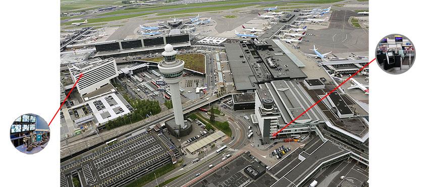 راه حل یو پی اس در فرودگاه
