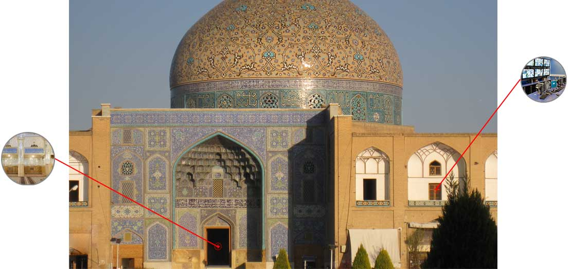 راه حل حفاظت مکانهای فرهنگی مذهبی